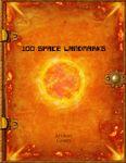 RPG Item: 100 Space Landmarks