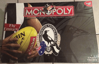 Board Game: Monopoly: Collingwood Football Club 2008 Charity Edition