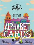 Board Game: Write On, Wipe Off Alphabet Cards