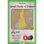 Board Game: Nations: Grand Duchy of Finland promo card