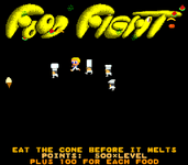 Video Game: Food Fight