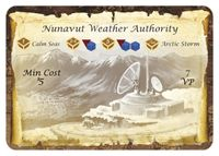 Board Game: Fleet: Nunavut Weather Authority