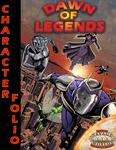 RPG Item: Dawn of Legends Character Folio
