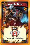 Board Game: Vikings Gone Wild: Meeple Bros Promo Card
