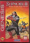 Video Game: Shinobi III: Return of the Ninja Master