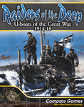 Board Game: Raiders of the Deep: U-boats of the Great War, 1914-18