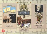 Board Game: Rome: Imperium, Circus Maximus, Hannibal vs Rome