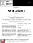 RPG Item: Art of Defence II