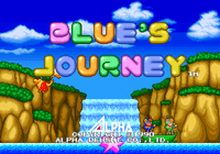 Video Game: Blue's Journey