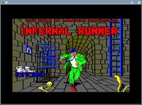 Video Game: Infernal Runner