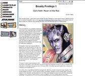 RPG Item: Bounty Postings 1: Oorn Noth: Racer on the Run