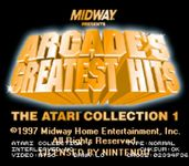 Video Game Compilation: Arcade's Greatest Hits: The Atari Collection 1