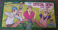 Board Game: Official Skins Golf Game