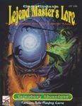 RPG Item: Lejend Master's Lore