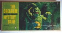 Board Game: The Creature From The Black Lagoon Mystery Game