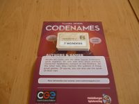 Board Game: Codenames: Authors & Games