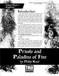 RPG Item: Priests and Paladins of Fire