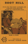 RPG: Boot Hill (1st Edition)