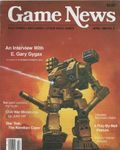 Issue: Game News (Issue 2 - Apr 1985)