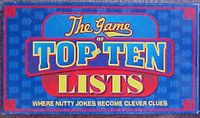 Board Game: The Game of Top Ten Lists