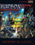 RPG Item: Hudson City Map