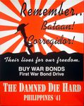 Board Game: The Damned Die Hard: Philippines '41