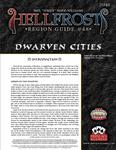 RPG Item: Hellfrost Region Guide #48: Dwarven Cities