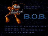 Video Game: B.O.B.
