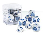 Board Game Accessory: Blood Bowl (2016 edition): The Dwarf Giants Dice Set