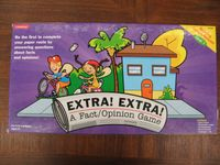 Board Game: Extra! Extra!:  A Fact/Opinion Game