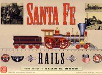 Board Game: Santa Fe Rails