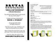 RPG Item: Skullcap Dungeon