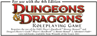RPG: 4e Game System Product (D&D 4.0 Compatible)