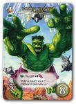 Board Game Accessory: Marvel Masterpiece Trading Card: Hulk