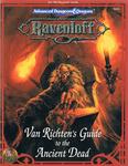 RPG Item: Van Richten's Guide to the Ancient Dead