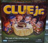 Board Game: Clue Jr.: The Case of the Missing Cake