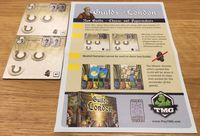Board Game: Guilds of London: New Guilds – Cheese- and Papermakers