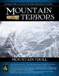 RPG Item: Mountain Terrors: Mountain Troll