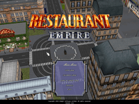 Video Game: Restaurant Empire