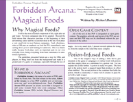 RPG Item: Magical Foods