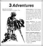 Video Game Compilation: 3 Adventures, CS-4513