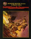 RPG Item: Dungeon Master Screen & Master Index