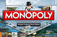 Board Game: Monopoly: Holiday Property Bond Edition