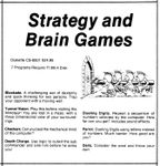 Video Game Compilation: Strategy and Brain Games, CS-6501