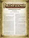 RPG Item: Advanced Race Guide Errata
