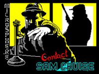Video Game: Contact Sam Cruise