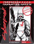 RPG Item: Cyberpunk 2.0.2.0 Character Sheets