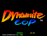 Video Game: Dynamite Cop