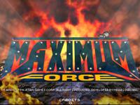 Video Game: Maximum Force