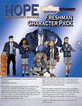 RPG Item: Hope Prep School Freshman Character Pack (Genesys)